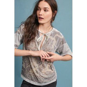 anthropologie TINY marbella velvet top